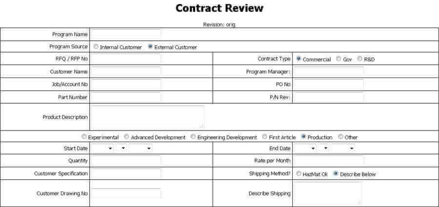 How to create a quality control plan jnf specialties for Quality control procedure template