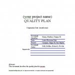 General Purpose Quality Plan