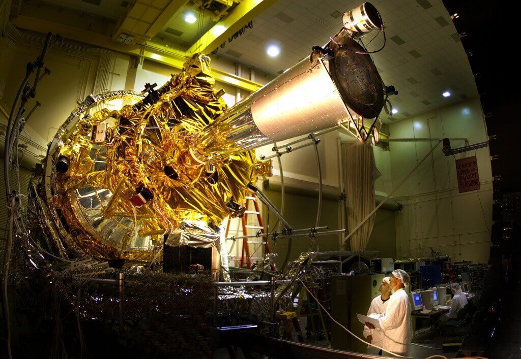 Gravity Probe-B Spacecraft built by Company using a practical quality plan.