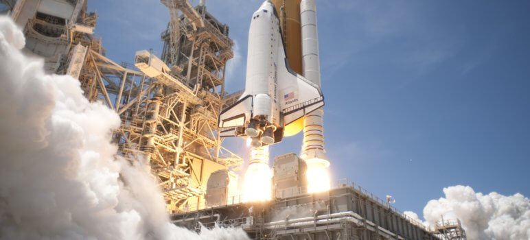 Atlantis Space Shuttle used Suppliers with AS9100 Quality System